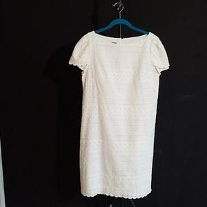 A pretty white dress